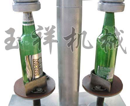 电动双头啤酒瓶轧盖机